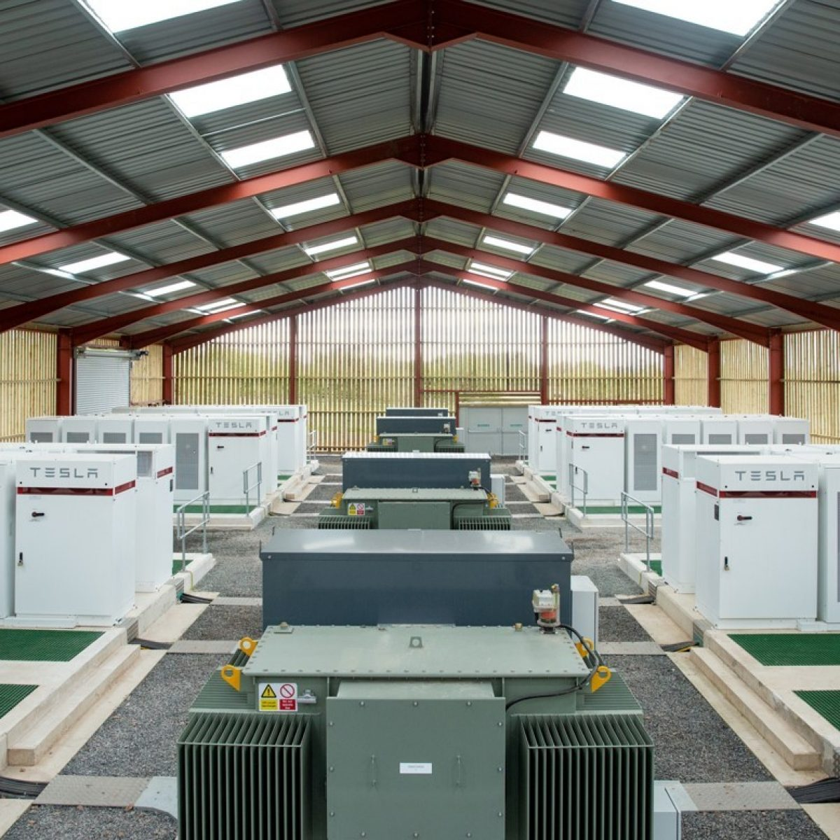Storelectric's Compressed Air Energy Storage (TES CAES). Image: Storelectric.