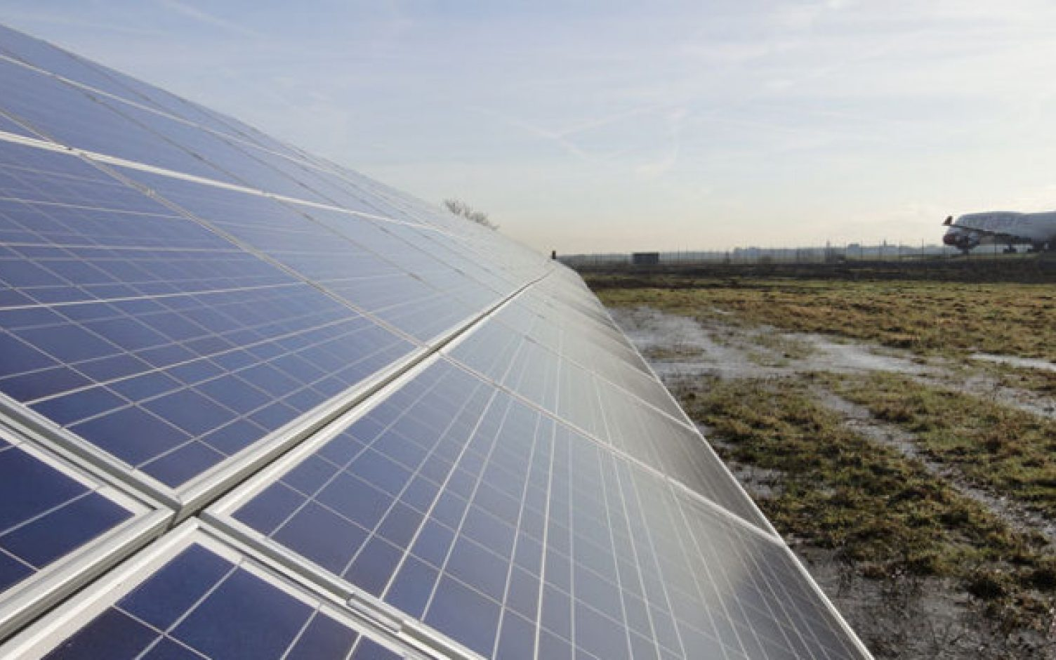 Vattenfall co-located solar with wind at Parc Cynog in Wales last year. Image: Vattenfall.