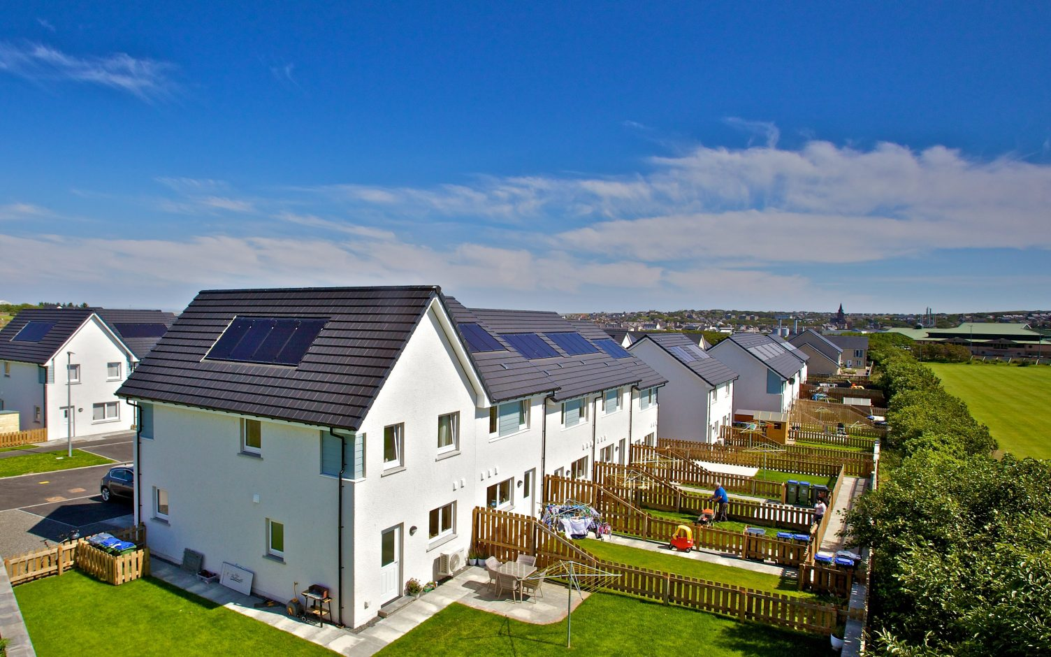 SMS launches a new solar offering for social housing using its FlexiGrid tech. Image: SMS.