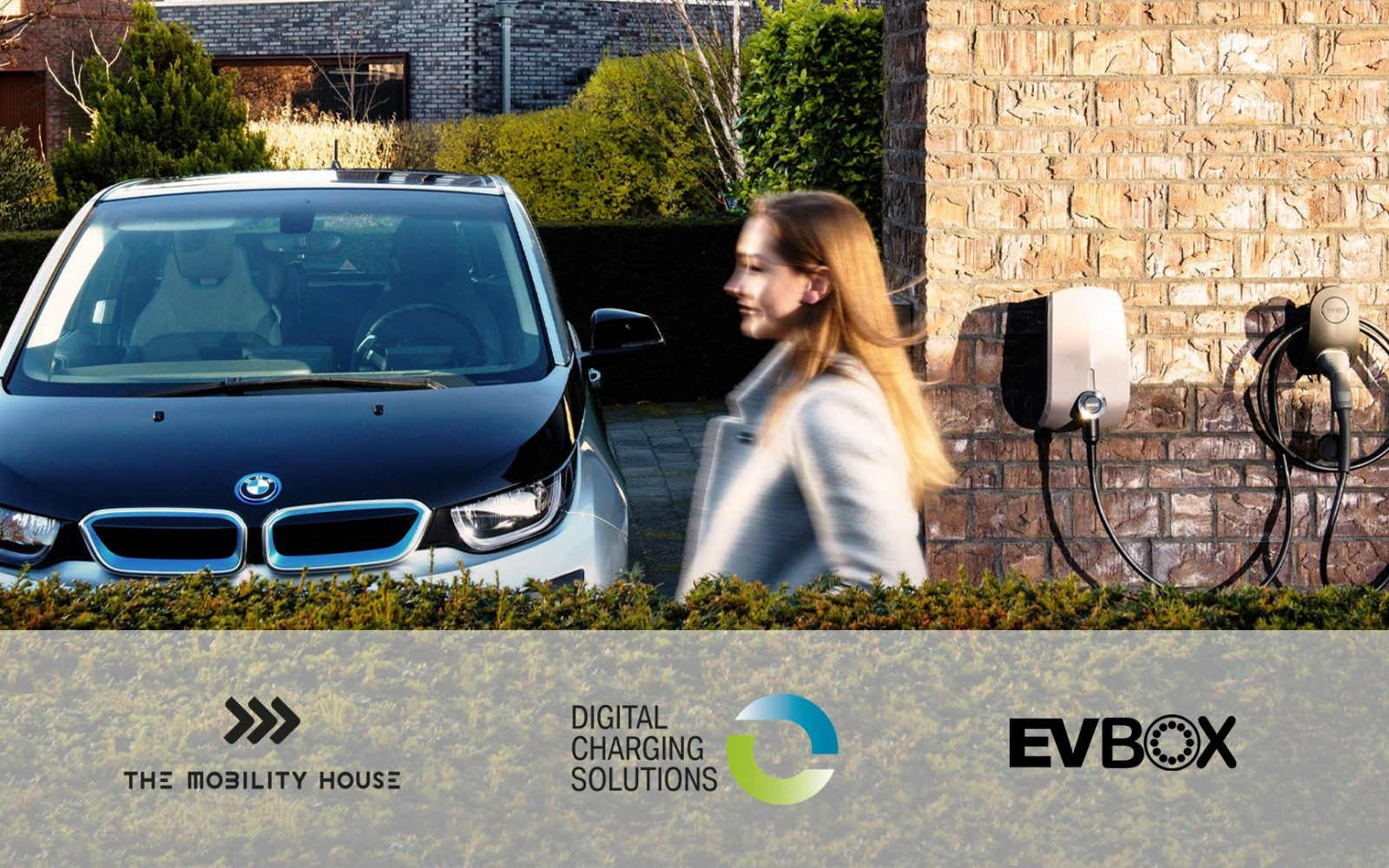 The solution enables employees to be reimbursed for the electricity they use to charge their company EV at home. Image: EVBox.