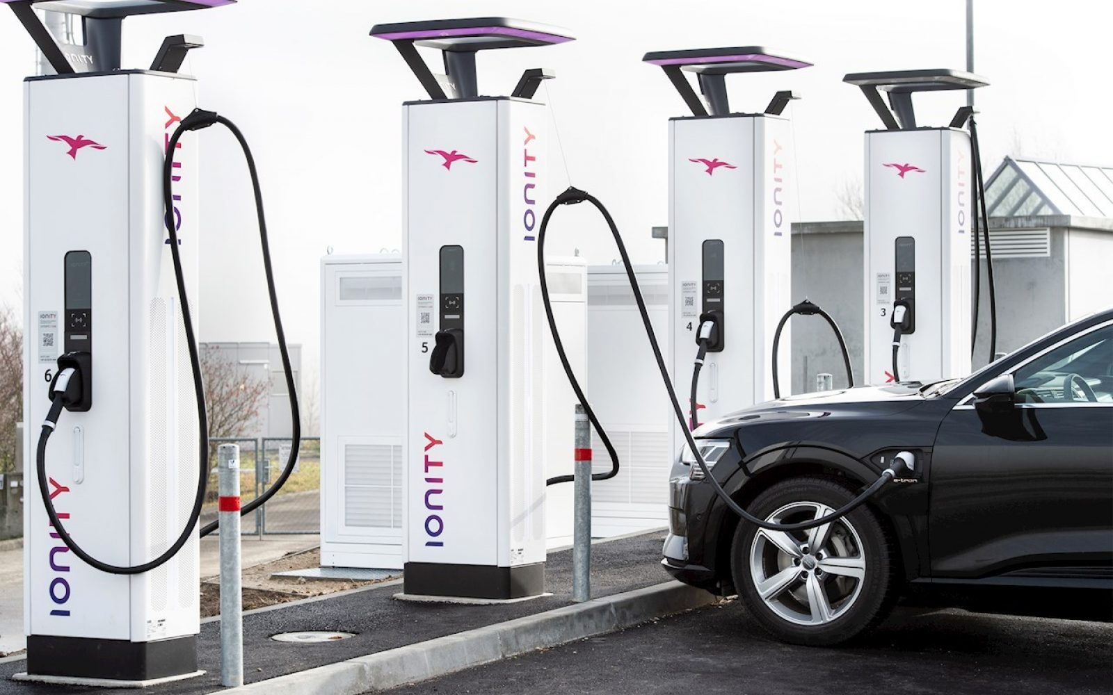 Ultra-rapid chargers - such as the 350kW chargers on offer from IONITY - are becoming increasingly more popular. Image: ABB/IONITY