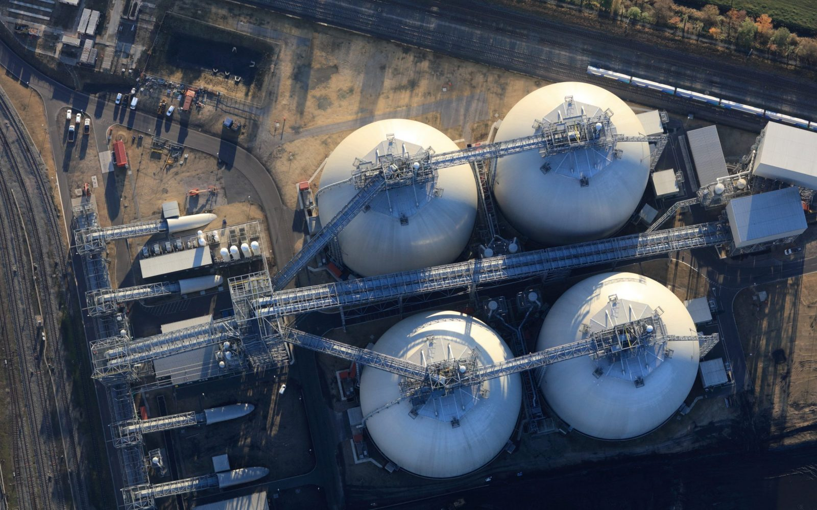 The Electric Insights report also states that new green technologies such as bioenergy with carbon capture and storage (BECCS) will be needed. Image: Drax.