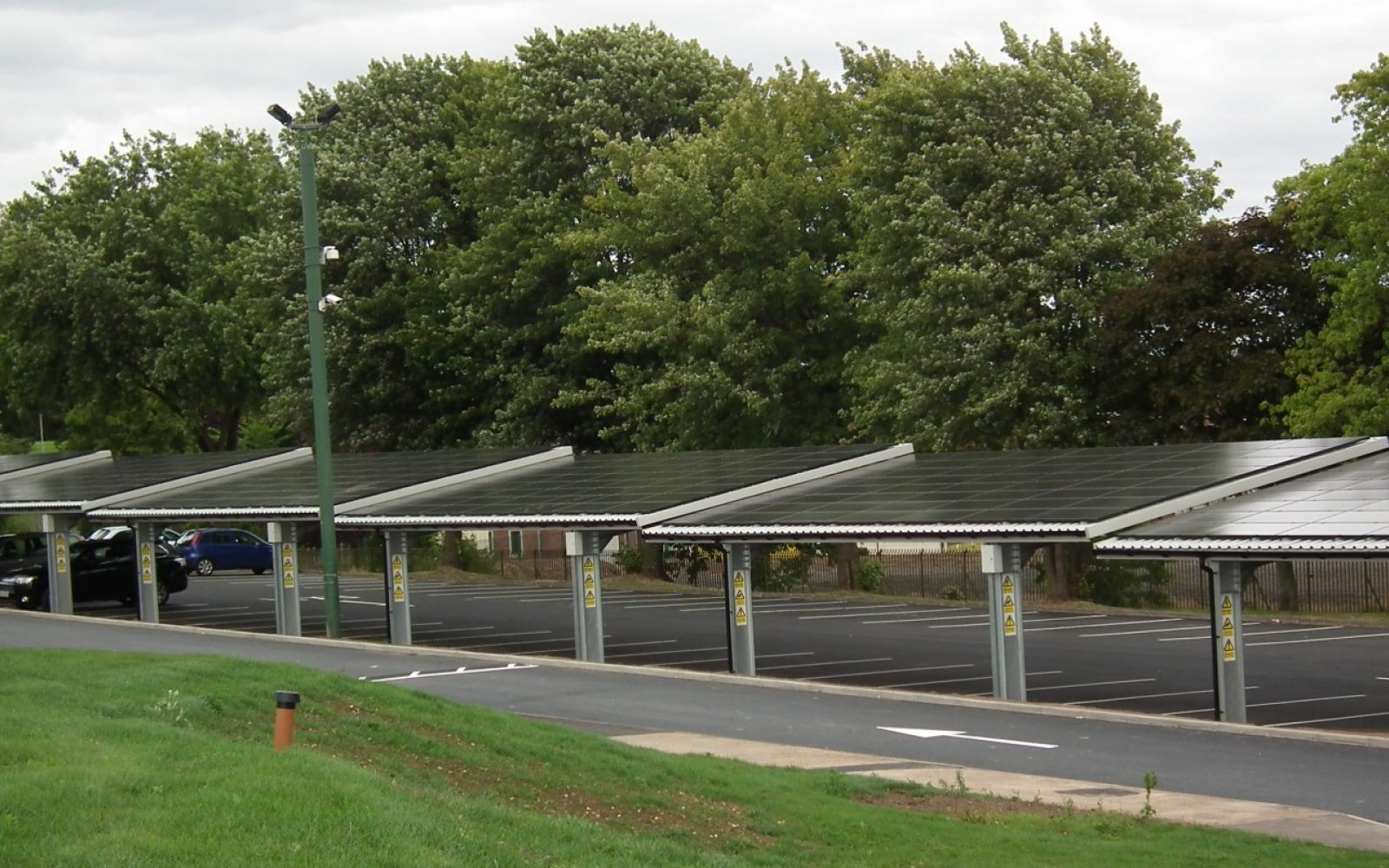Local governments seeing the light with solar carports