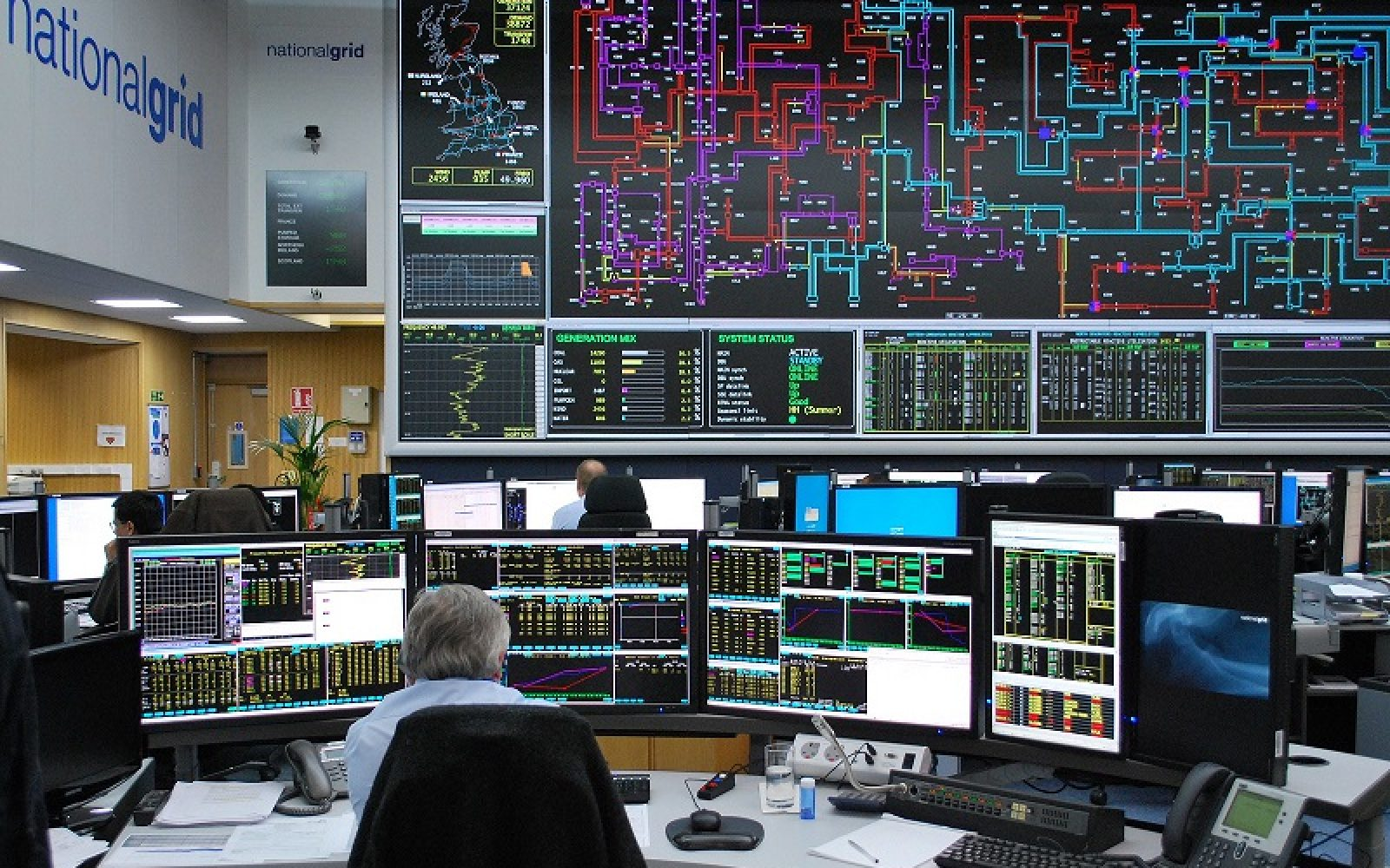 National Grid will use a web-based platform to access distributed energy resources following the first successful connection and testing of battery storage dispatch. Image: National Grid.