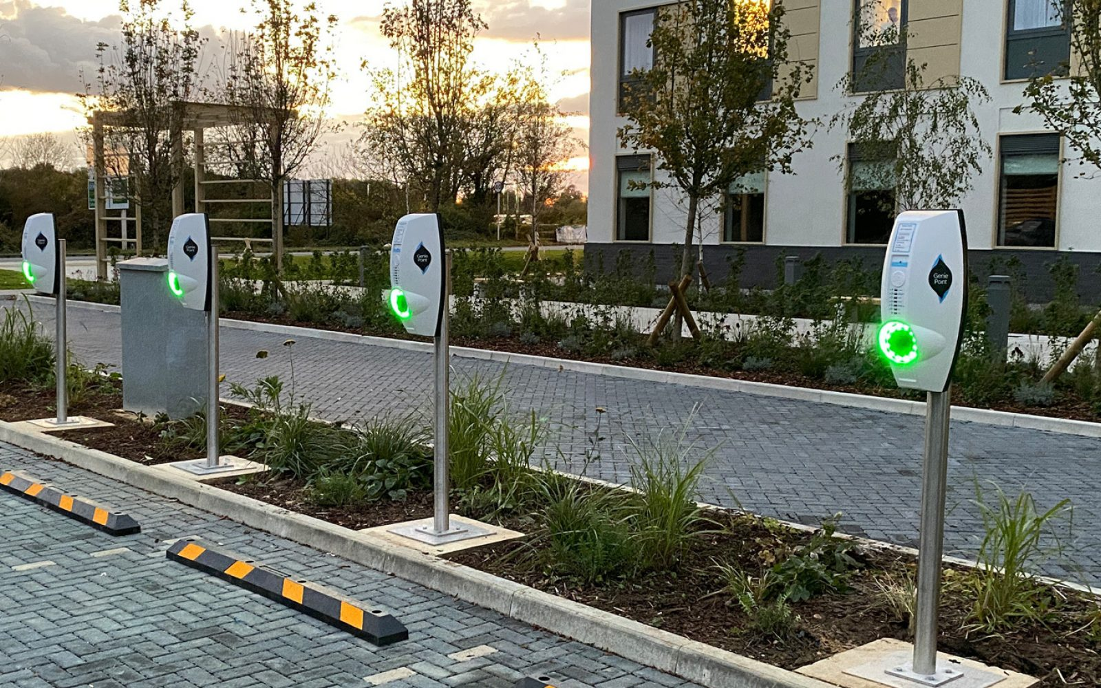 EQUANS recently landed a deal with NatWest for the installation of EV chargers. Image: EQUANS.