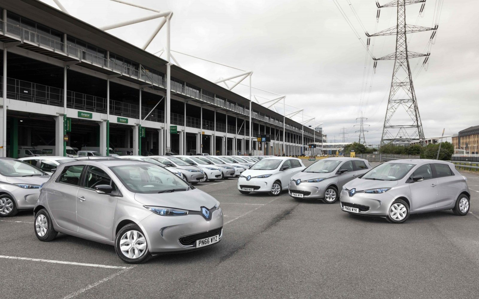 Europcar Adds 55 Electric Cars To Delivery And Collect Service