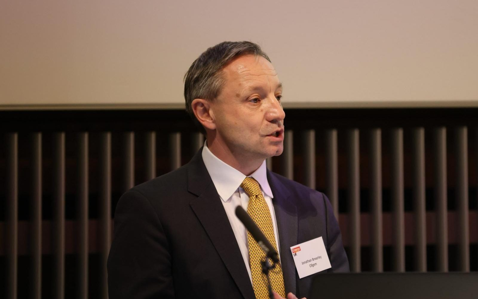 Ofgem CEO Jonathan Brearley (pictured) spoke of the need to increase the resiliency in the energy supply market. Image: Ofgem.