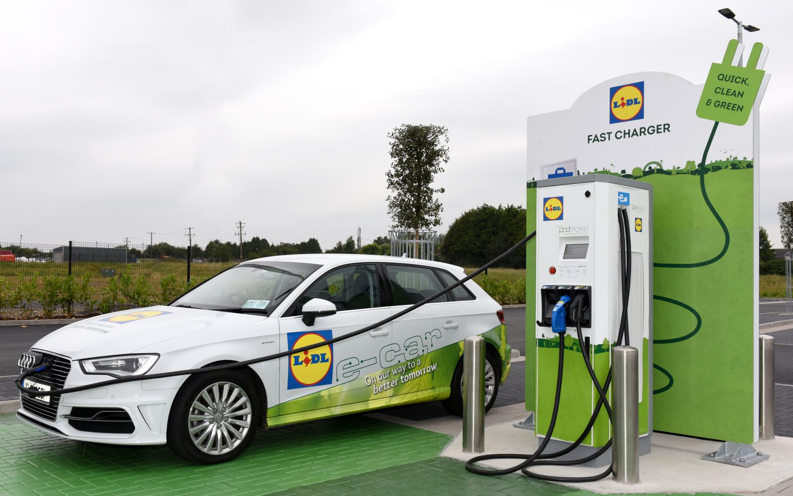 lidl ireland to deliver new network of electric vehicle chargers