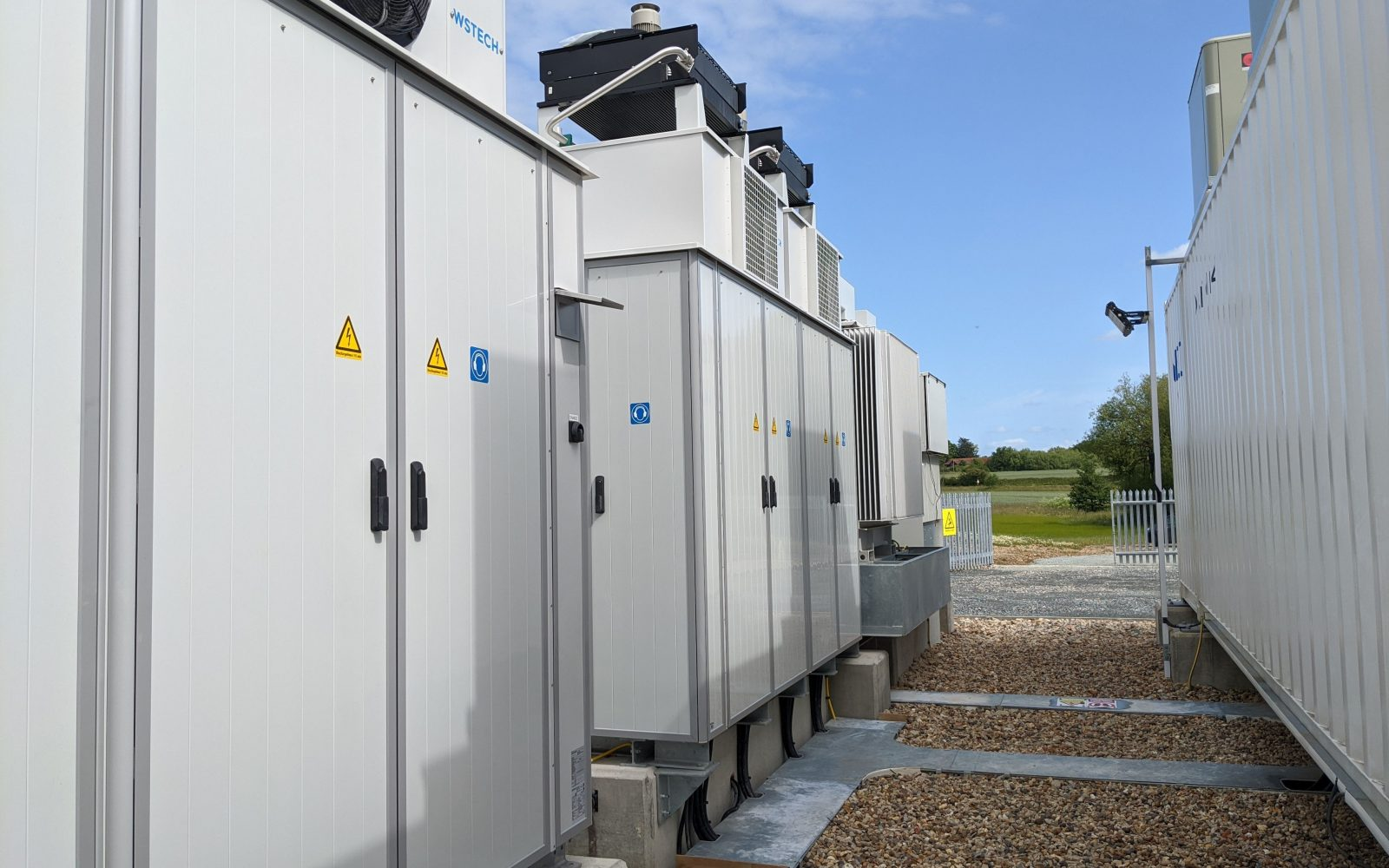 Gore Street Energy Storage Fund's Lower Road battery asset. Image: Gore Street.