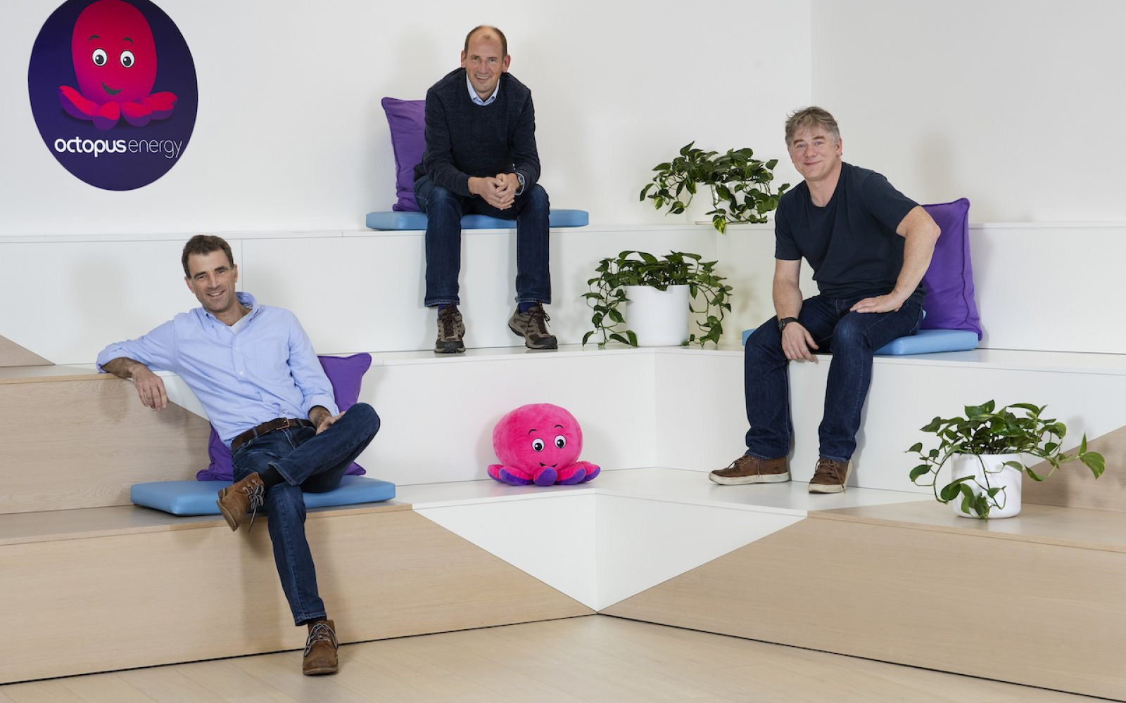 Octopus Energy was set up five years ago, and has since grown to have over 3 million customers. Image: Octopus Energy.