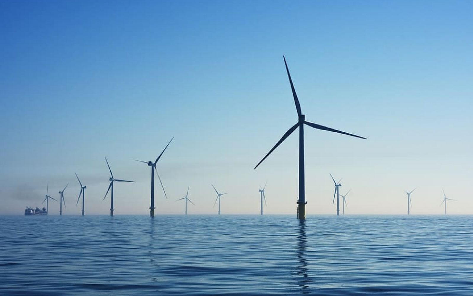 Wind power generated a record 20% of the UK's energy.