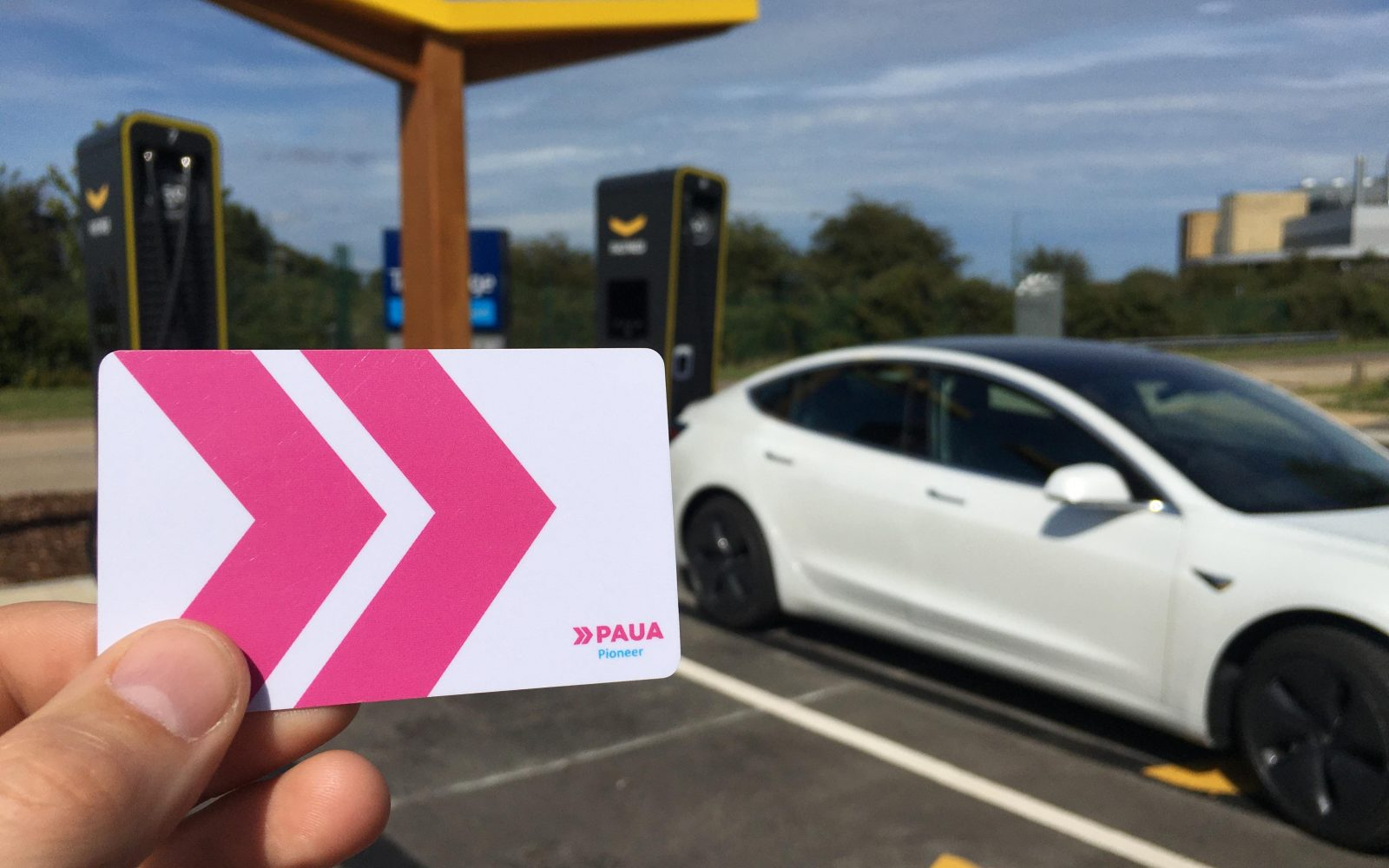Alongside Fastned, Paua also has Osprey and Mer chargepoints on offer through its electric fuel card solution. Image: Paua