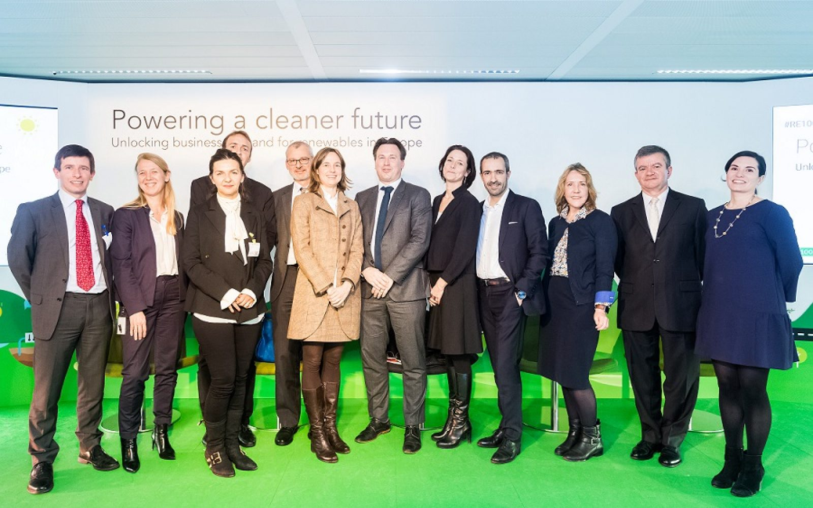 RE100 and Google make the case for a green business future in Brussels