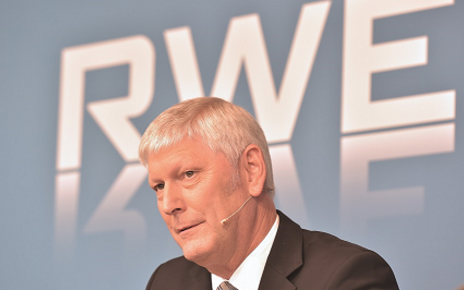 Image: Rolf Martin Schmitz, chief executive at RWE.