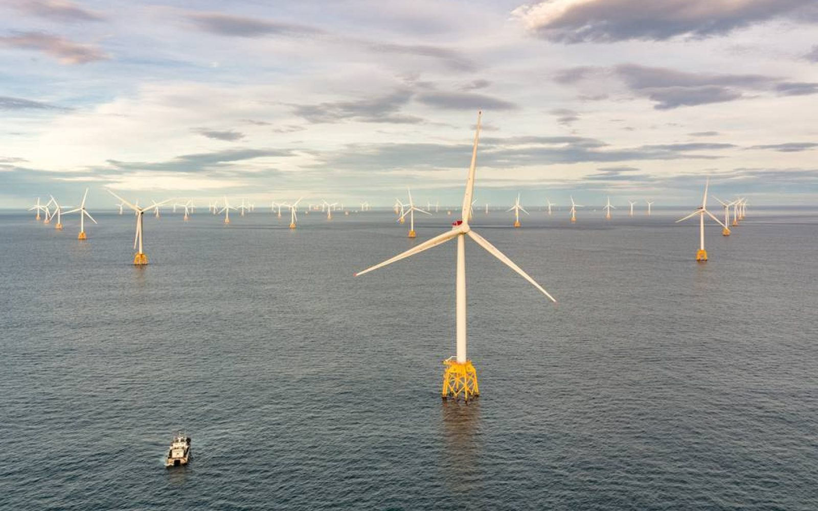 SSE's Beatrice offshore wind farm. Image: SSE.