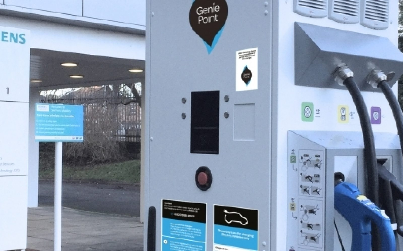 Image: ChargePoint Services/Genie Point.