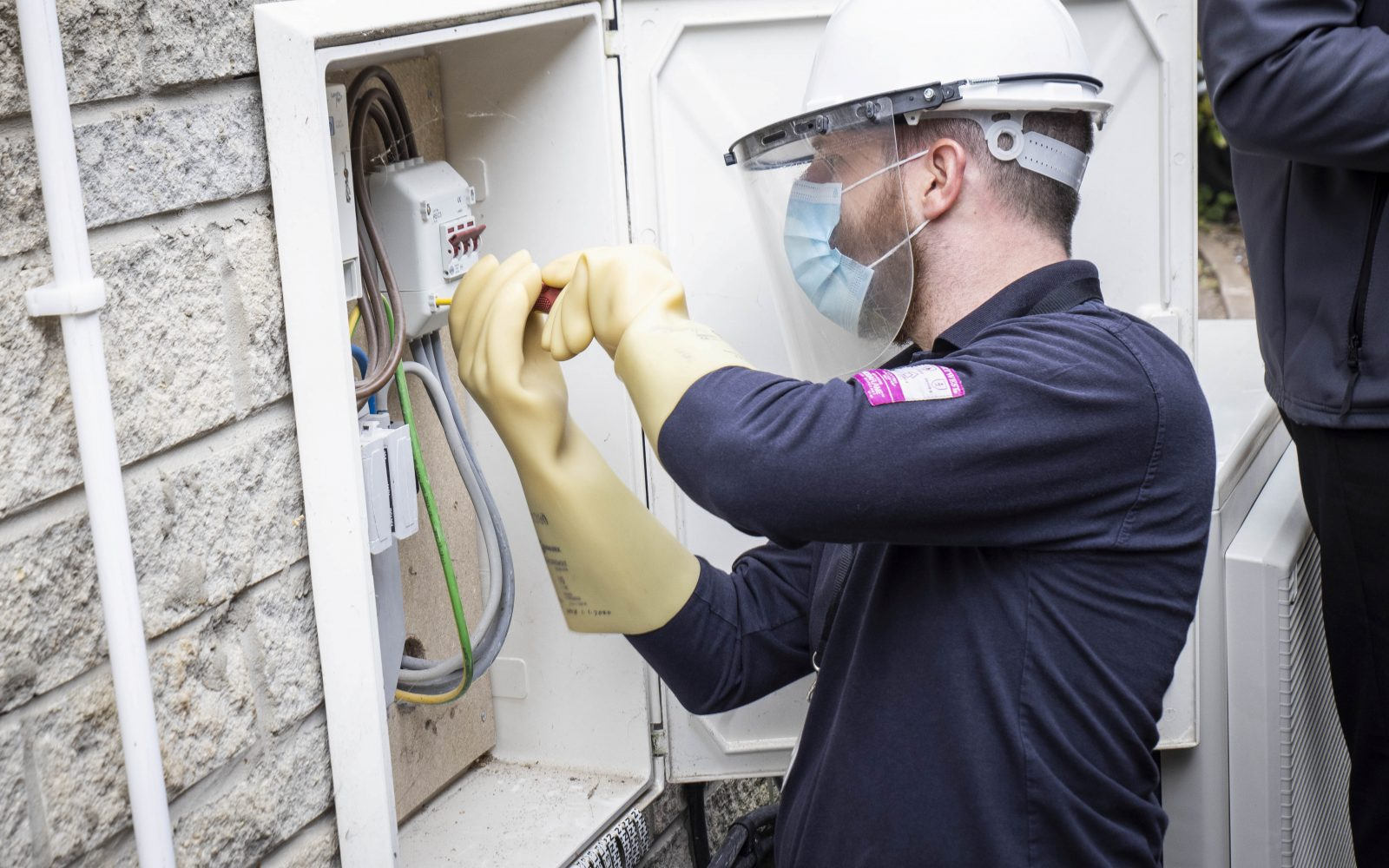 Smart meter installation. Image: SMS plc.