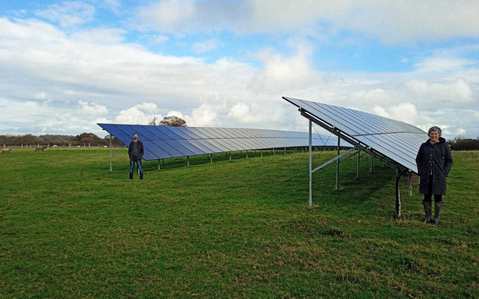 The Sewells Farm in Barcombe, which provides renewable energy to a local business park. Image: UKPN.