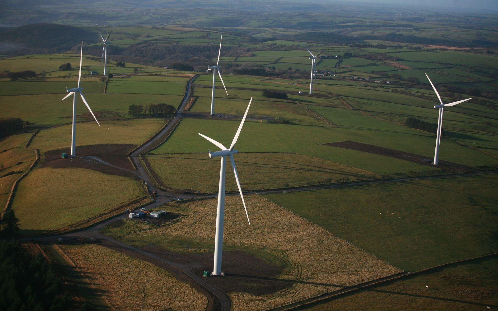 Wind turbines in Wales. Courtesy of Statkraft