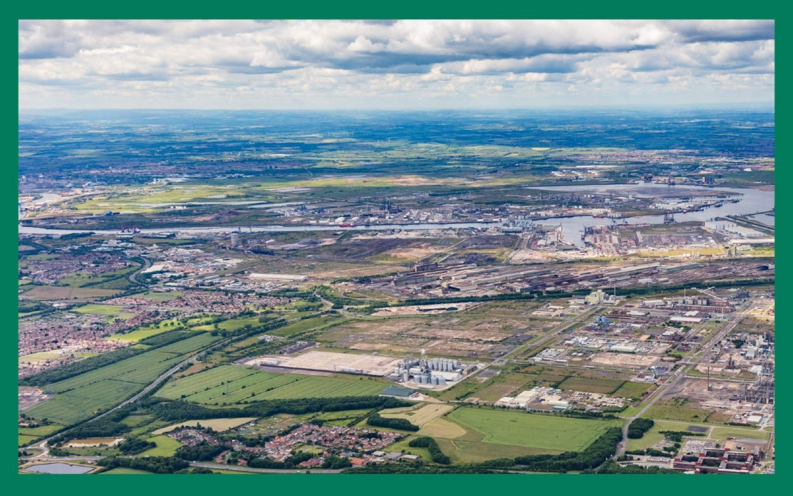 Sembcorps Wilton International, Teesside site, where the Whitetail NET Power plant will be constructed. Image: Sembcorp.