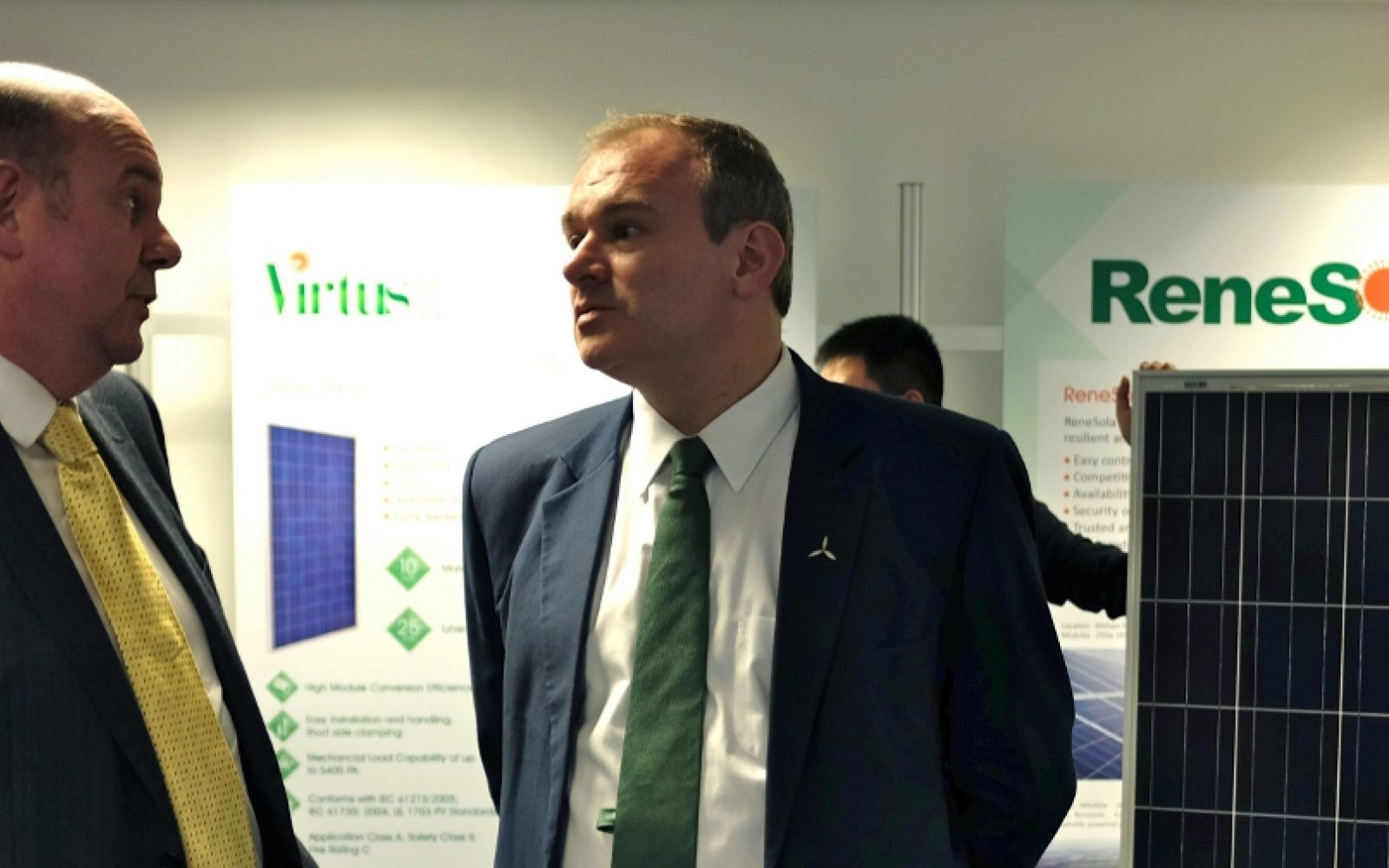Ed Davey: UK needs 'massive amount' of energy storage for 'dramatic transition' to low carbon