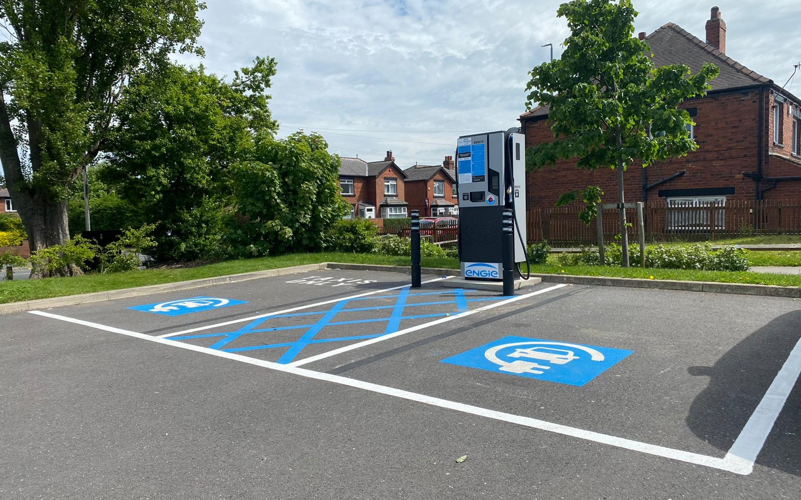 The EV chargepoints were installed over the span of two years. Image: EQUANS