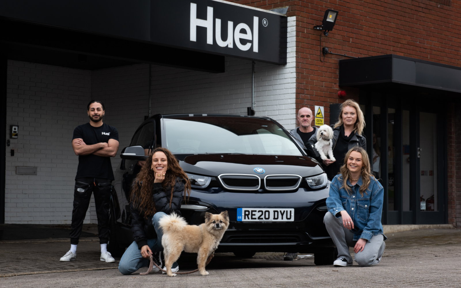 Huel is one of the first 15 companies to sign up to the leasing scheme. Image: Huel.
