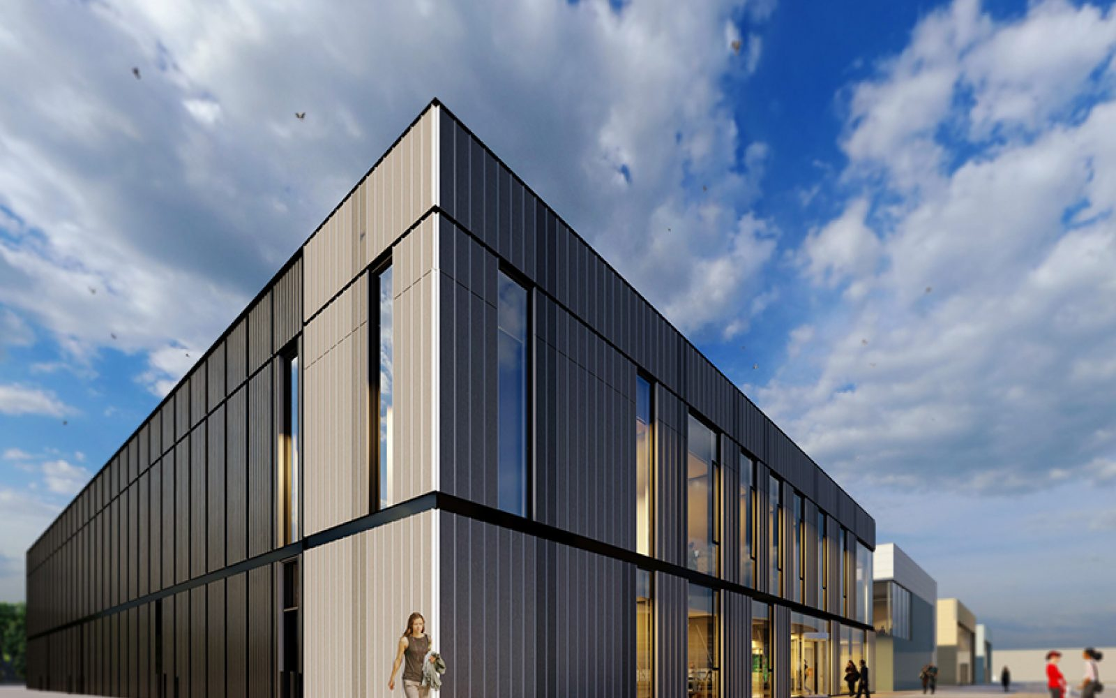 Artist's impression of the new research centre. Image: The University of Sheffield