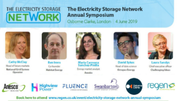 Electricity Storage Network Annual Symposium