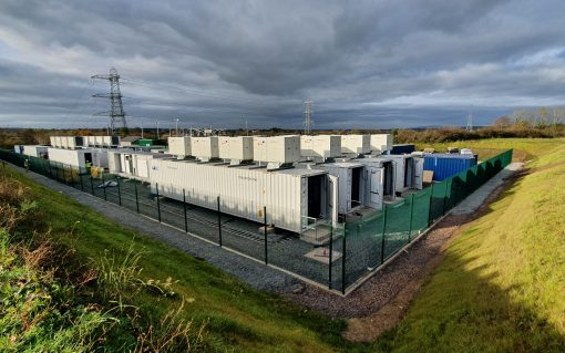 The 50MW Drumkee battery. Image: Gore Street