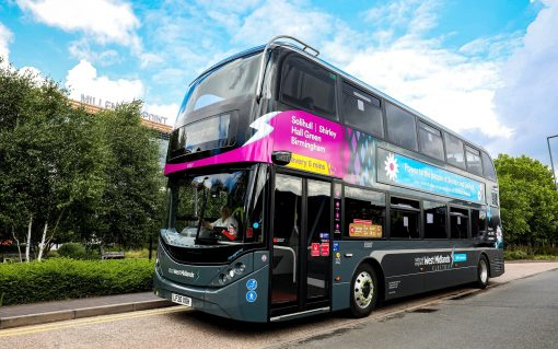 The BYD ADL Enviro400EV. Image: CNW Group/Alexander Dennis Limited.