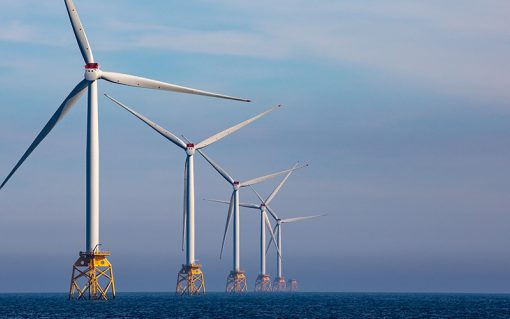 SSE's Beatrice wind farm. Image: SSE.