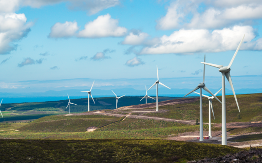 Berry Burn Wind Farm. Image: Statkraft.
