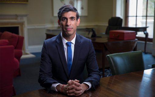 Chancellor Rishi Sunak. Image: gov.uk.