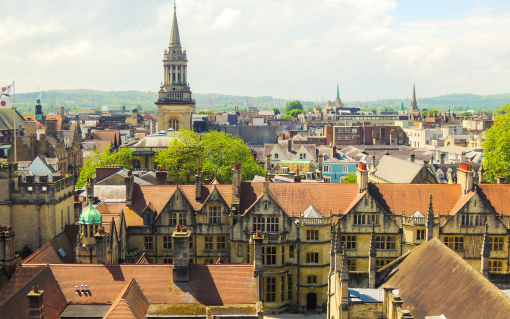 The City of Oxford was highlighted in the report for its Energy Superhub project. Image: Abdulhakeem Samae (Pixabay).