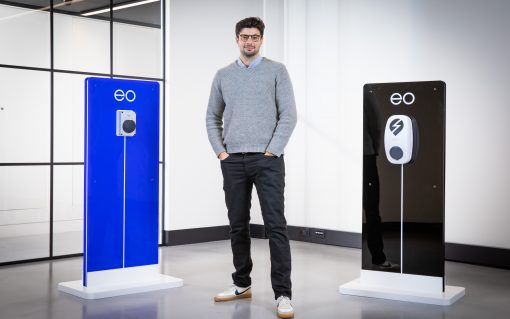 Charlie Jardine is to remain CEO of EO Charging. Image: EO Charging