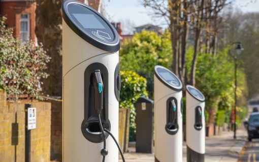 The Envision project will support the increasing numbers of EV chargepoints needing to connect to UKPN's network. Image: UKPN.