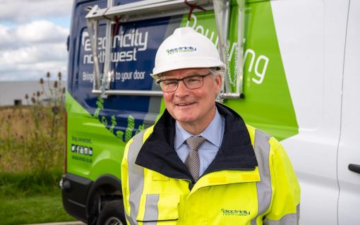 Electricity North West's chief executive Peter Emery. Image: Electricity North West.