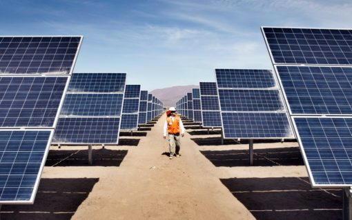 Soaring materials prices could dampen solar deployment forecasts this year. Image: Enel.