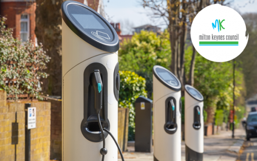The chargers are to be installed in areas with limited off-street parking. Image: Milton Keynes Council