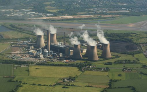 Fiddler's Ferry Power Station. Image: Alan James.