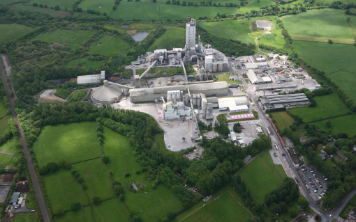 HyNet North West, made up of a consortium of industry players including cement company Hanson (whose Padeswood plant is pictured) will receive almost £33m. Image: Hanson/HyNet.
