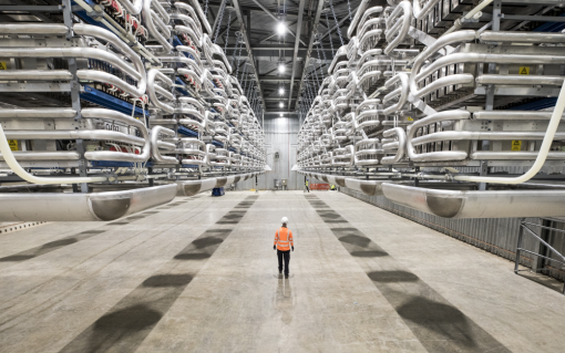 The fire is at National Grid's IFA1 interconnector in Kent, while the IFA2 interconnector (pictured) is located in Portsmouth. Image: National Grid