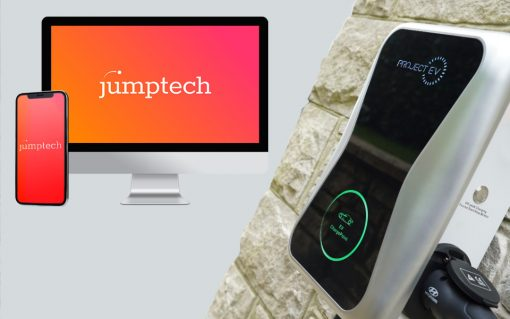 ProjectEV is the latest in a stream of EV chargepoint companies to partner with Jumptech. Image: Jumptech.