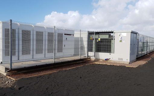 Kiwi Power also manages battery energy storage assets such as this one in Wales, UK. Image: Kiwi Power