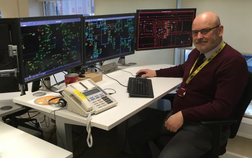 John Duller, control systems and automation manager at UK Power Networks. Image: UKPN.
