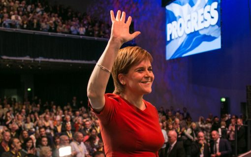 SNP party leader Nicola Sturgeon in 2017. Image: SNP.
