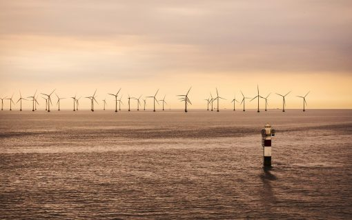 More large infrastructure projects will be needed to reach net zero, like offshore wind.