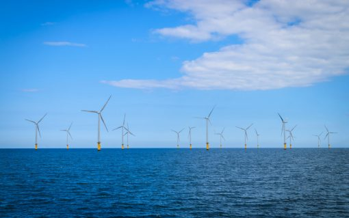 Offshore wind capacity was up 53% year-on-year in Q1 2020.