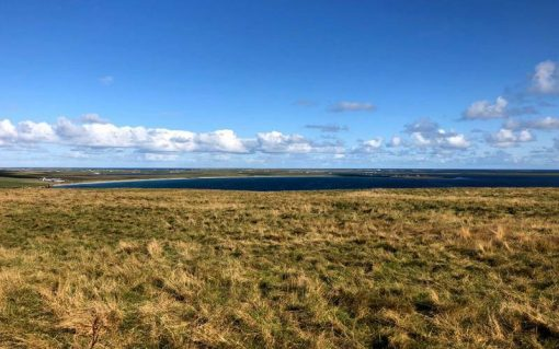 Orkney has been used as something of a test bed for the energy transition, as it has huge amounts of renewable energy capacity. Image: SSEN.